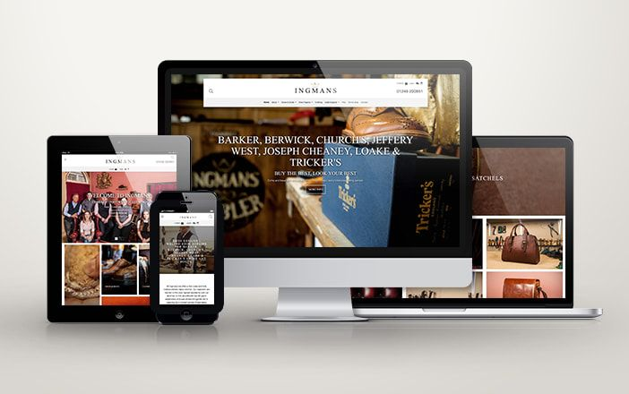 New Website and SEO for Ingmans